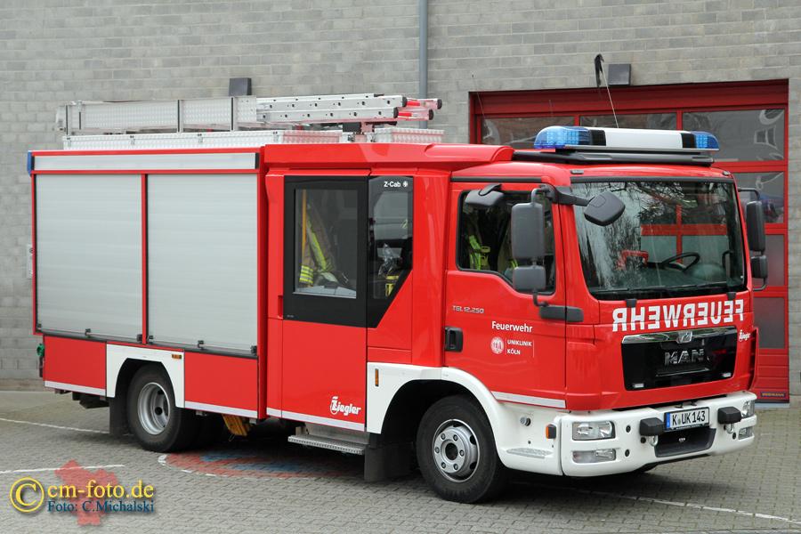 Werkfeuerwehr Uniklinik Köln